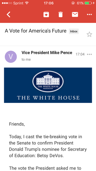 Illustration for article titled Did anyone else just get an email from the VP??