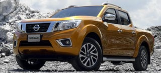 Illustration for article titled Check Out Every Angle Of (Almost Definitely) The 2015 Nissan Frontier