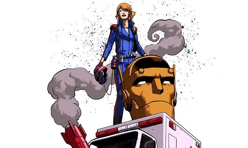 Illustration for article titled DC Launches New Imprint (and New Doom Patrol) from Gerard Way