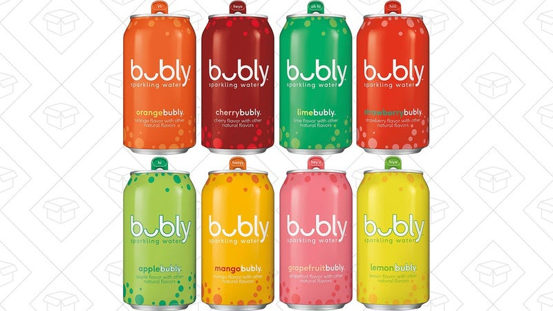 bubly Sparkling Water 8 Flavors (18 Cans) | $7 | Amazon | With Subscribe & Save and 25% coupon
