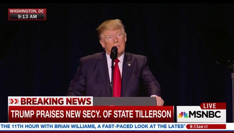 Screenshot via MSNBC