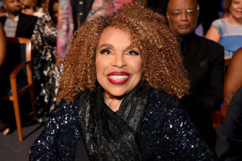 Roberta Flack attends Black Girls Rock! 2017 backstage at NJPAC on Aug. 5, 2017, in Newark, N.J.
