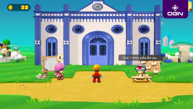 Nintendo Announces That 'Super Mario Maker 2' Will Finally Let Users Build A Synagogue So Mario Can Get Bar Mitzvahed