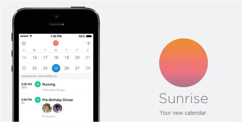 Illustration for article titled Sunrise, una de las mejores apps gratis de calendario para el iPhone