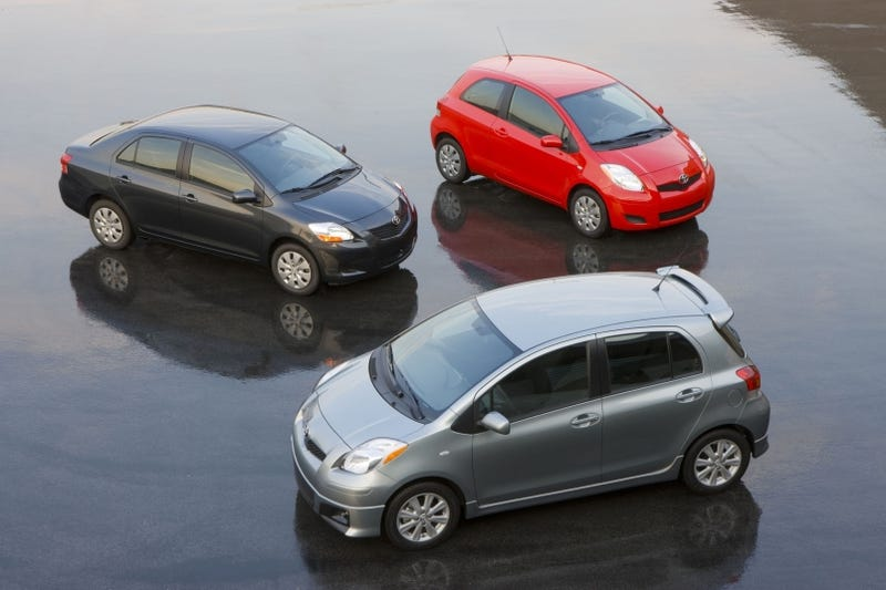 Illustration for article titled Jalopnik Answers: The Plural Of Yaris is...