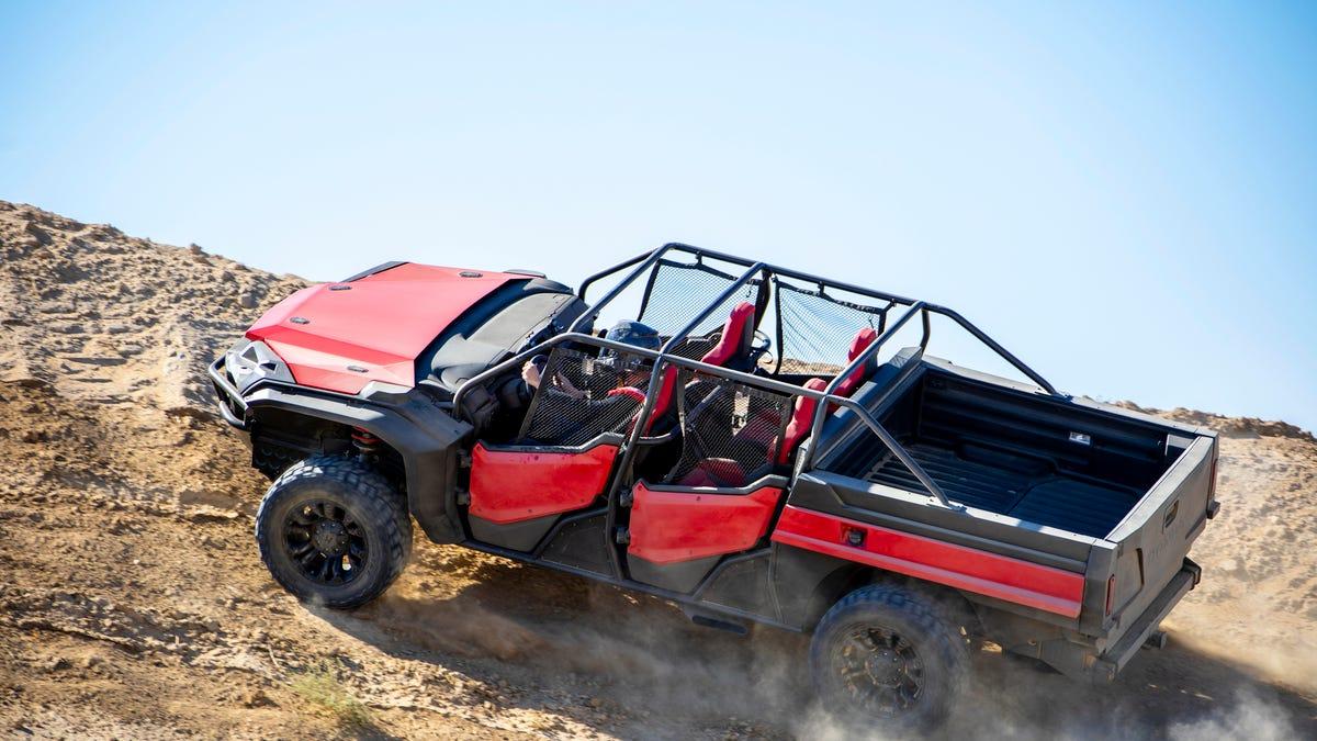 This Honda Ridgeline Dune Buggy Proves That The Ridgeline Is