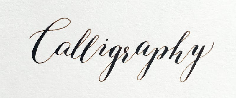Illustration for article titled Calligraphers?