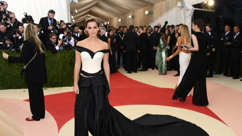 Emma Watson wore a dress made out of plastic bottles to the Met Gala