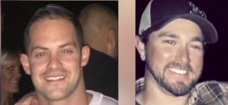 Logan August and Derrick Penney (Turnto23.com video screenshot)