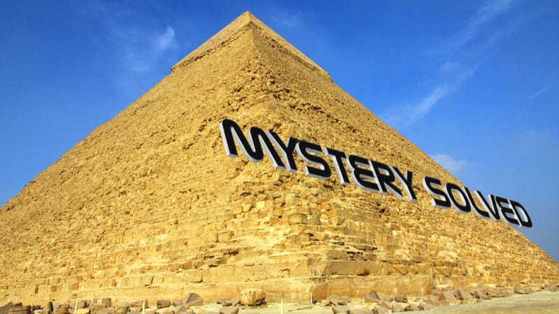 A theory that could finally explain how the Great Pyramids of Egypt