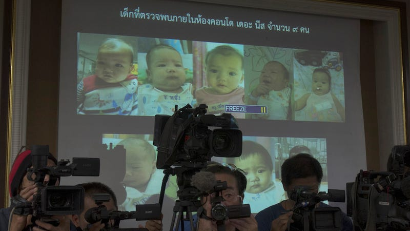 "Illustration for article titled ​Father of 16 Investigated in Interpol ""Baby Factory"" Case"
