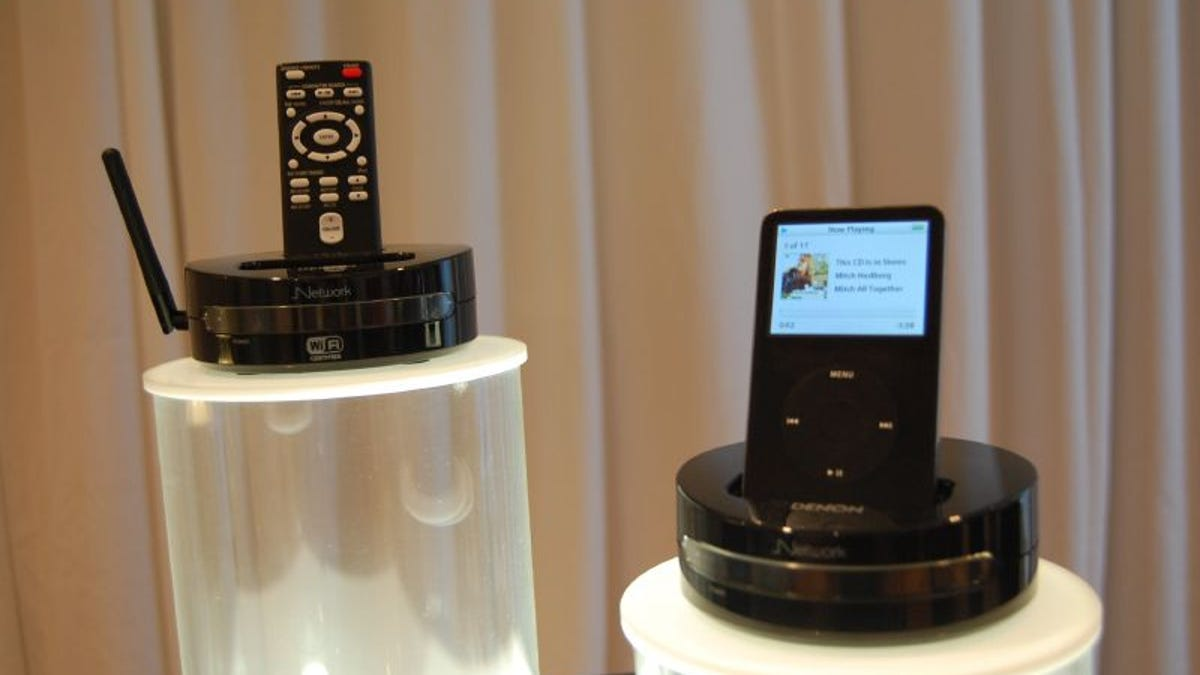 Denon Introduces Networked ASD-3N and ASD-3W iPod Docks, X-Space DHT