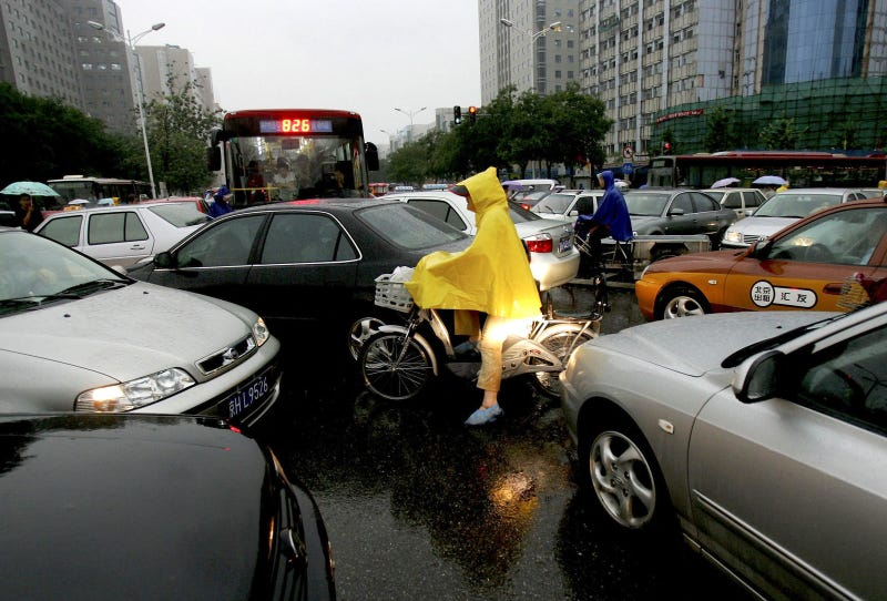 chinese drivers run over pedestrians