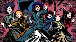 "Action and adventure in ""Suffrajitsu: Mrs. Pankhurst's Amazons"""