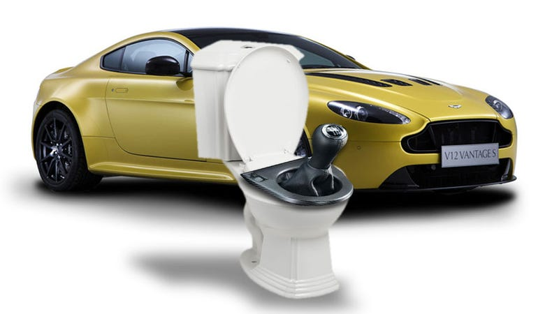 Illustration for article titled Why Are People Bitching About TheGearshift In TheAston Martin V12Vantage S?