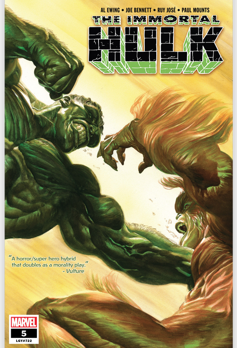 Illustration for article titled Go Pick Up Immortal Hulk #5 and Thank Me Later