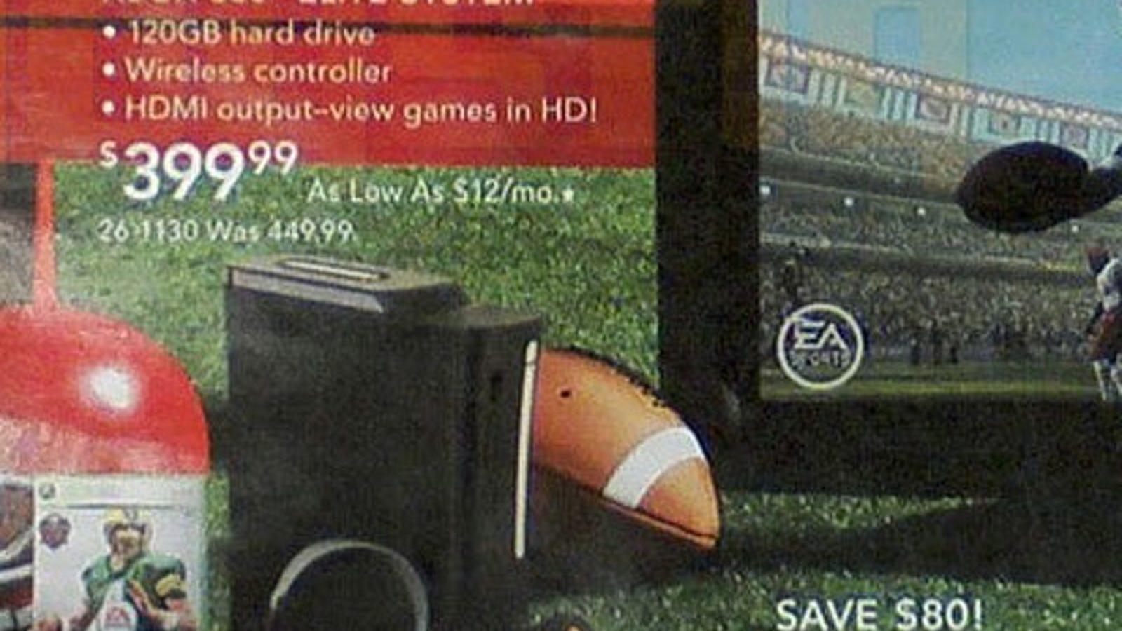 RadioShack Flyer Indicates Xbox 360 Price Cuts on Elite