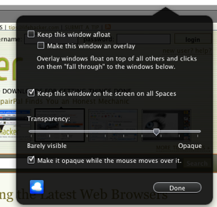Illustration for article titled Afloat Manages Your Windows from the Keyboard