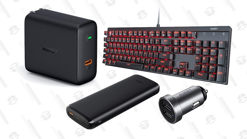 Illustration for article titled Save Big on a Ton of Aukey Gear During Their Back-to-School Sale