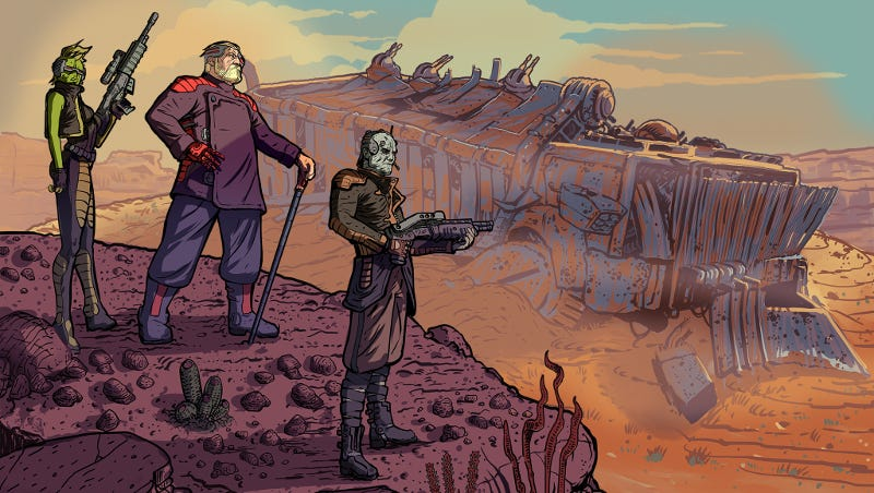 Illustration for article titled Fallout And XCOM Had A Baby, And It's Tough As Nails
