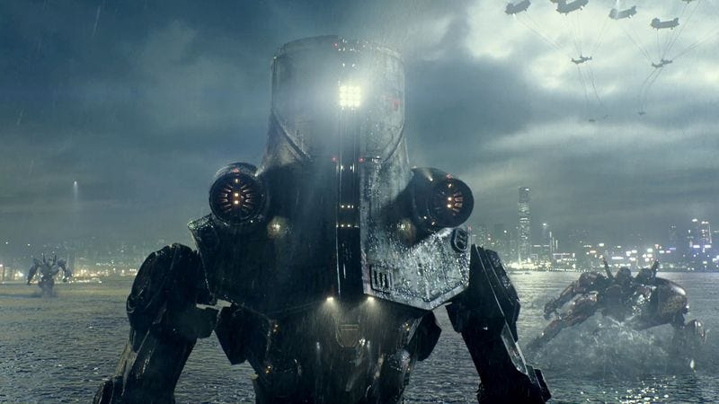 Illustration for article titled Guillermo del Toro says Pacific Rim 2 will have fewer monsters, more science