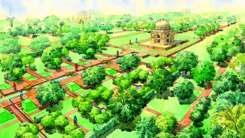 Illustration for article titled New Delhi's Super-Park Will Completely Dwarf Central Park