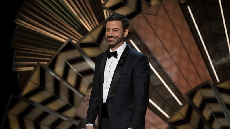 Jimmy Kimmel hosts the 89th Academy Awards (Photo: Eddy Chen/ABC via Getty Images)