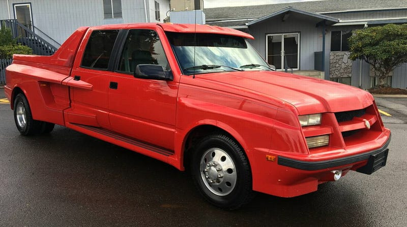For 9 750 Could This Custom 1993 Chevy Diesel Dually Tow The Line