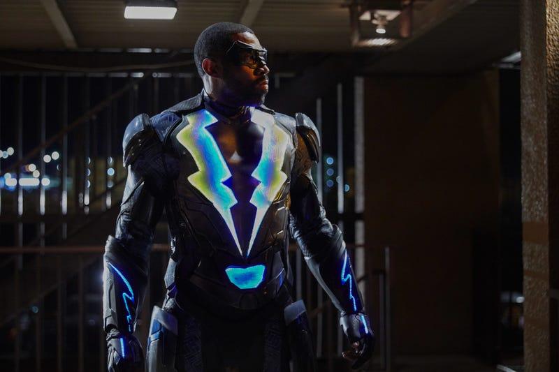 Cress Williams is Black Lightning (Photo: Bob Mahoney/The CW)