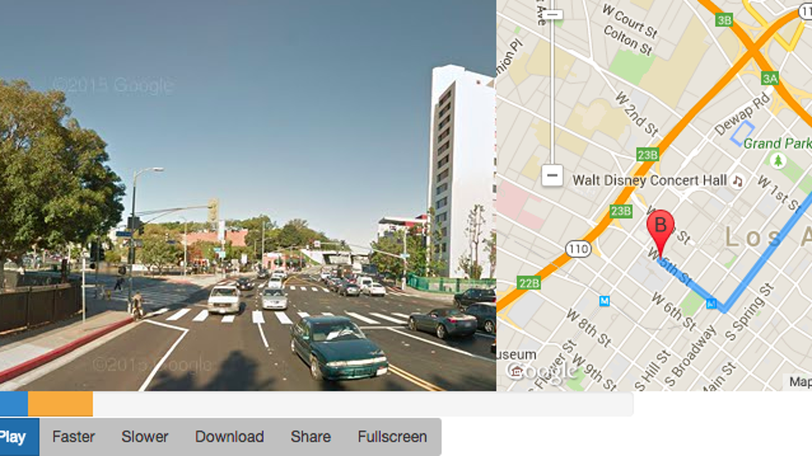 Watch A Google Street View Video Of Your Map Route - Track my distance google maps