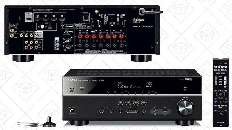 Receptor Yamaha 7.2 compatible con Dolby Atmos   $300   AmazonGráfico: Shep McAllister
