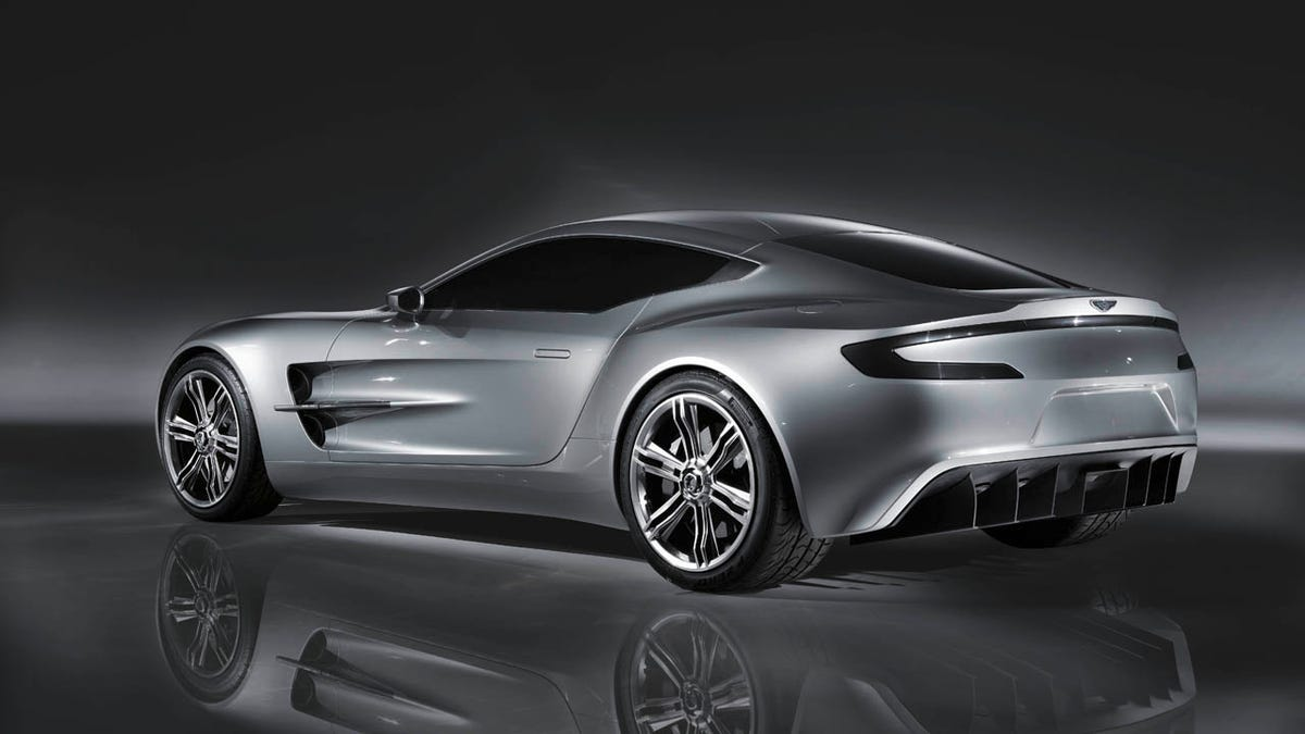 Million Aston Martin One Only Second Most Expensive Car - Aston martin 1 77 price