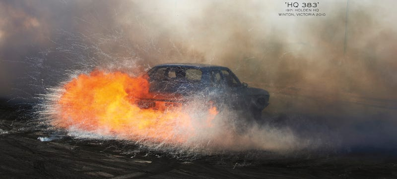 Illustration for article titled These Gorgeous Pictures Of Australian Burnouts Will Melt Your Brain