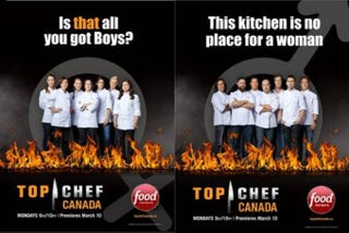 Illustration for article titled Kitchenette: Top Chef Canada Delves Into Super Fun Sexism Times