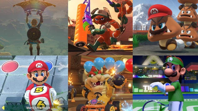 Six Essential Nintendo Switch Games Are On Sale For $45 Right Now