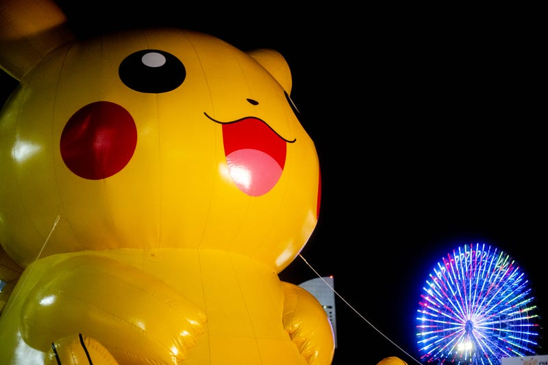 Illustration for article titled In Photos: 2,000 Dancing Pikachus (And Their Fans) Take Over Yokohama, Japan