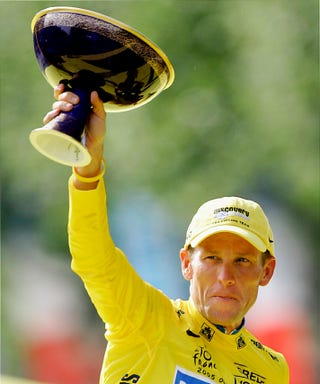 Illustration for article titled Lance Armstrong's Tour De France Career
