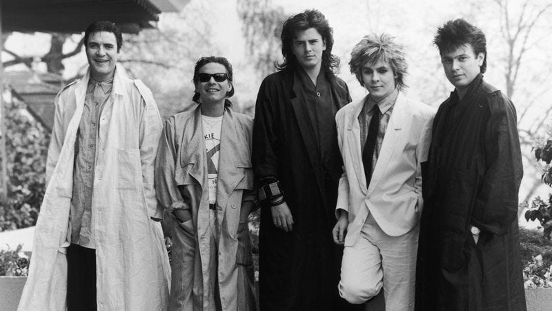 Duran Duran in 1985 (Photo: Getty Images)