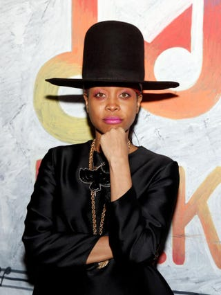 Erykah Badu in 2014Rick Kern/Getty Images for Samsung