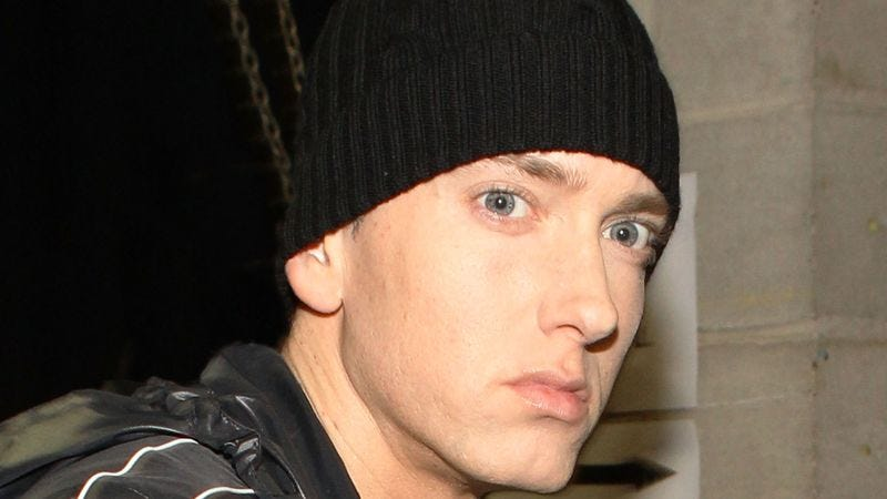Since learning that his daughter's new boyfriend loved his music growing up, Eminem has been worried sick about her.