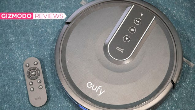 This Cheap Robot Vacuum Isn t Super Flashy, But It Gets the Job Done