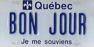 Illustration for article titled Genius Philly Fan Posts The License Plate He Stole From Montreal Writer Online