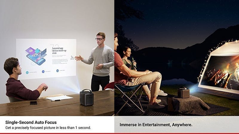 Anker Nebula Mars Lite Portable Projector | $220 | Amazon