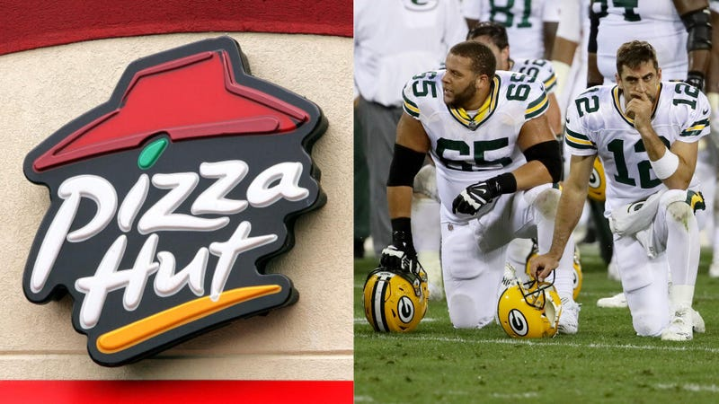 Illustration for article titled Good riddance, Papa John's: Pizza Hut is the NFL's new official pizza