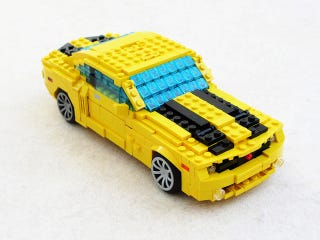 Illustration for article titled This Lego Chevy Camaro hides an excellent robotic secret