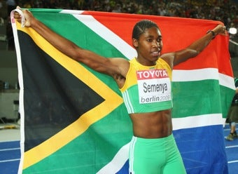 """Illustration for article titled Caster Semenya Wins """"Third World War"""" •Swimming Pools Closed Because Of Fecal Matter"""