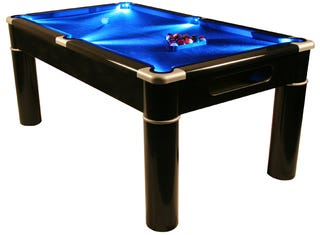 Aurora LED Pool Table Is The Ultimate Tasteless Bachelor Pad Game - Pool table pad