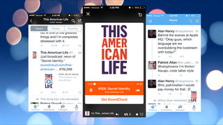 Illustration for article titled Twitter Introduces SoundCloud Streaming Integration for Mobile Apps