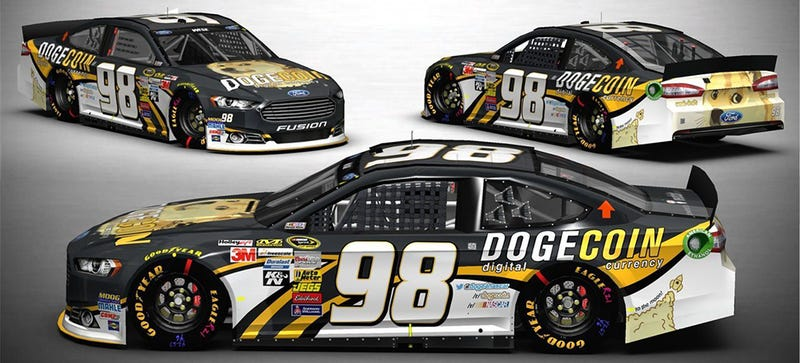 Illustration for article titled Such NASCAR, Much Motorsports: What It Looks Like When Doge Goes Racing