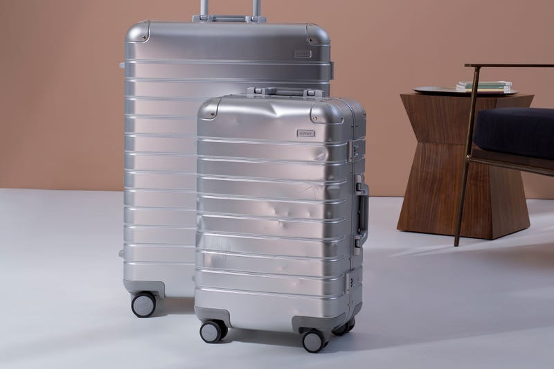 Illustration for article titled Away's Luxury Aluminum Luggage Will Get Better with Age